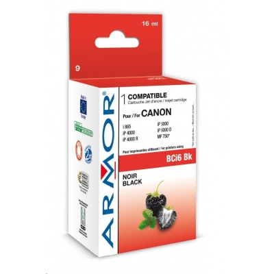 ARMOR cartridge pro CANON S800/900/i860/i960 Black (BCI-6Bk)