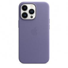 APPLE iPhone 13 Pro Leather Case with MagSafe - Wisteria