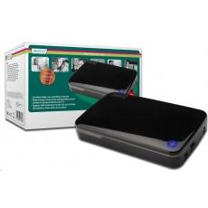 "DIGITUS Externí box 3,5"" S-ATA - USB 3.0 bezšroubová montáž, OTB funkce"