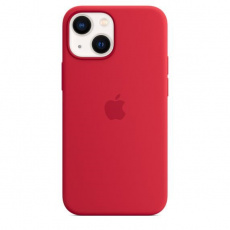 APPLE iPhone 13 mini Silicone Case with MagSafe – (PRODUCT)RED