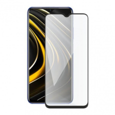 Screenshield ochrana displeje Tempered Glass pro XIAOMI Poco M3 (full COVER), černá