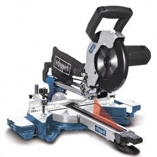Scheppach HM 90 MP - dvourychlostní multifunkční pokosová pila s potahem a laserem