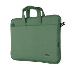 "TRUST Pouzdro na notebook 16"" Bologna Slim Laptop Bag Eco, zelená"