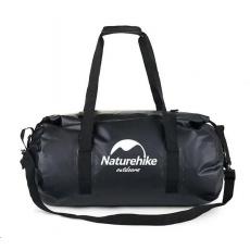 Naturehike vodotěsný batoh 120l - černý