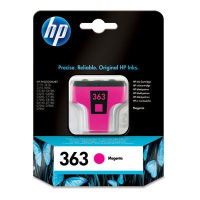 HP 363 Magenta Ink Cart, 3,5 ml, C8772EE