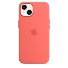 APPLE iPhone 13 Silicone Case with MagSafe – Pink Pomelo