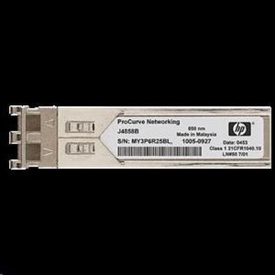 HPE X121 1G SFP LC LX HP refurbished transceiver J4859CR