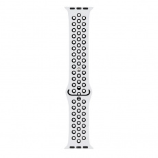 RhinoTech sportovní řemínek pro Apple Watch 38 / 40mm Bílo-černá