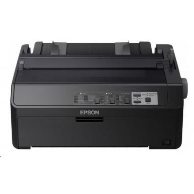 EPSON tiskárna jehličková LQ-590II, A4, 24 jehel, high speed draft 550 zn/s, 1+6 kopii, USB 2.0,