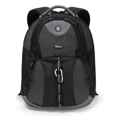 DICOTA Backpack Mission XL 15-17.3, black