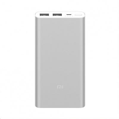 10000mAh Mi Power Bank 2S (Silver)