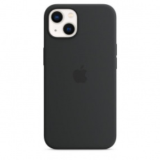 APPLE iPhone 13 Silicone Case with MagSafe – Midnight