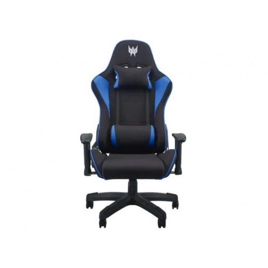 ACER PREDATOR GAMING CHAIR, BLACK WITH BLUE ACCENT, 2D ARM REST (RETAIL PACK)